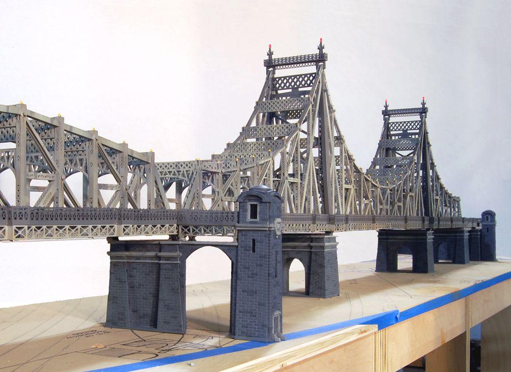 Cmr Queensboro Bridge Model