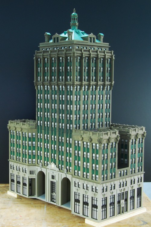Custom Model Railroads, Empire State Building Chrysler ...