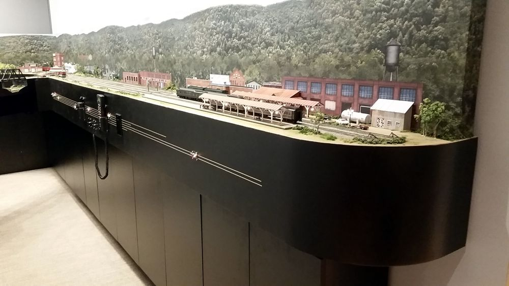 custom model railroads  ho scale southern railway layout