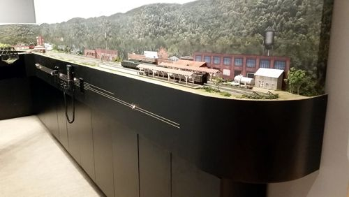 Custom Model Railroads Ho Scale Southern Railway Layout