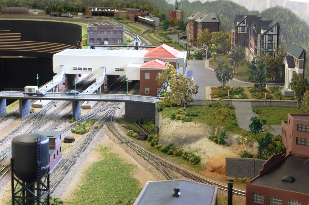 Custom Model Railroads N Amp W N Scale Layout