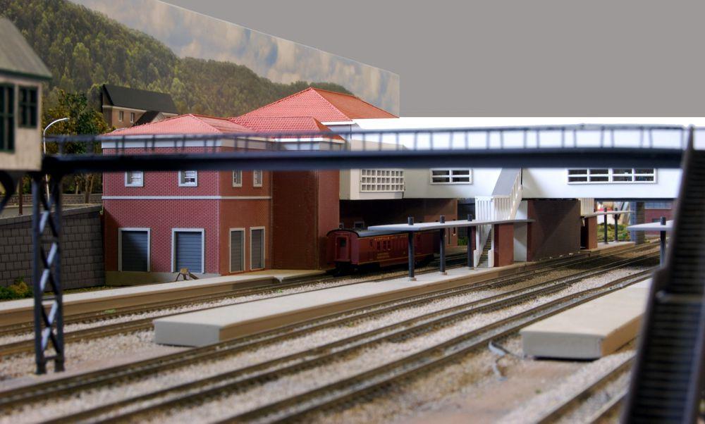 Custom Model Railroads, N&W N Scale Layout
