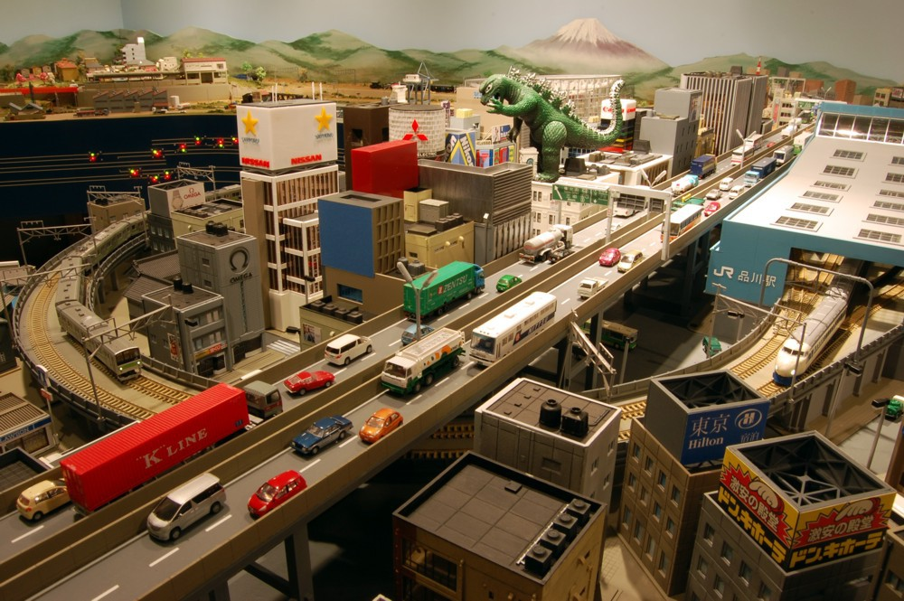 N scale harbor layout level