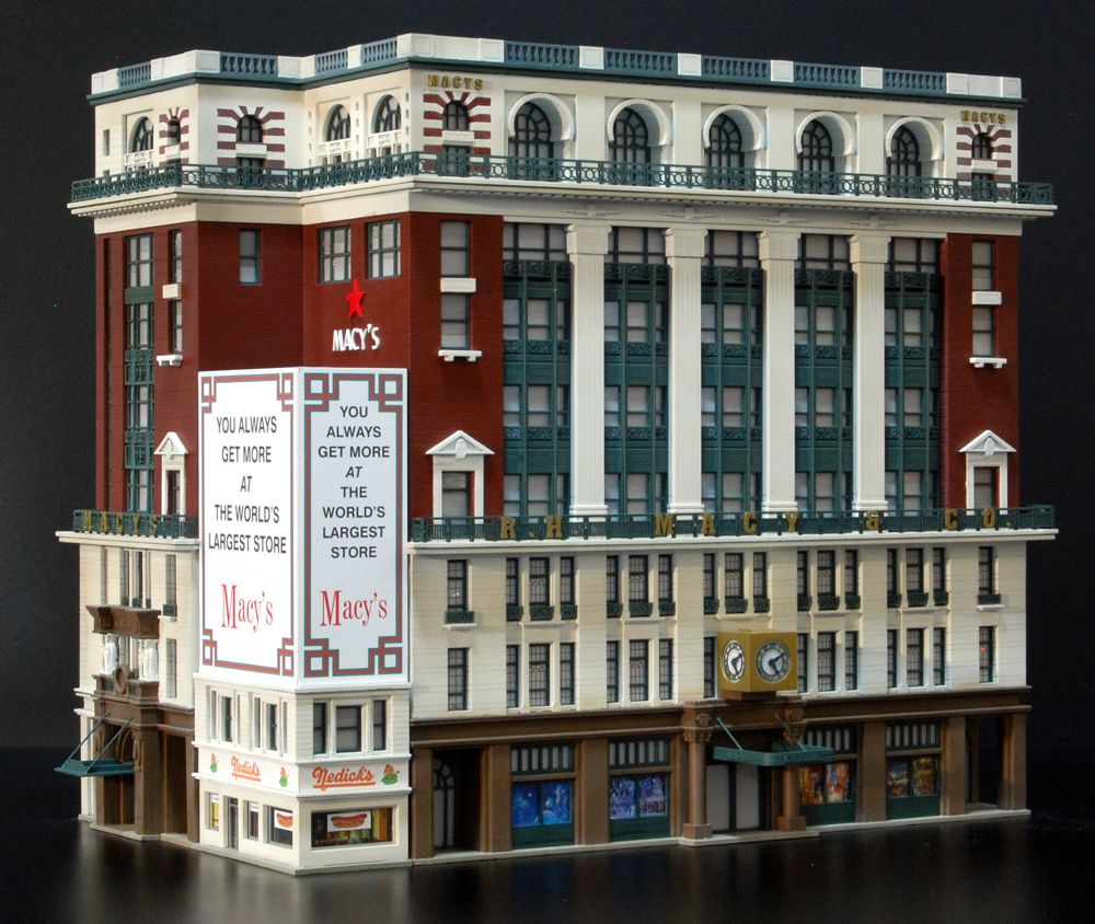 This one of a kind model was built as part of a series of nyc icons in o scale