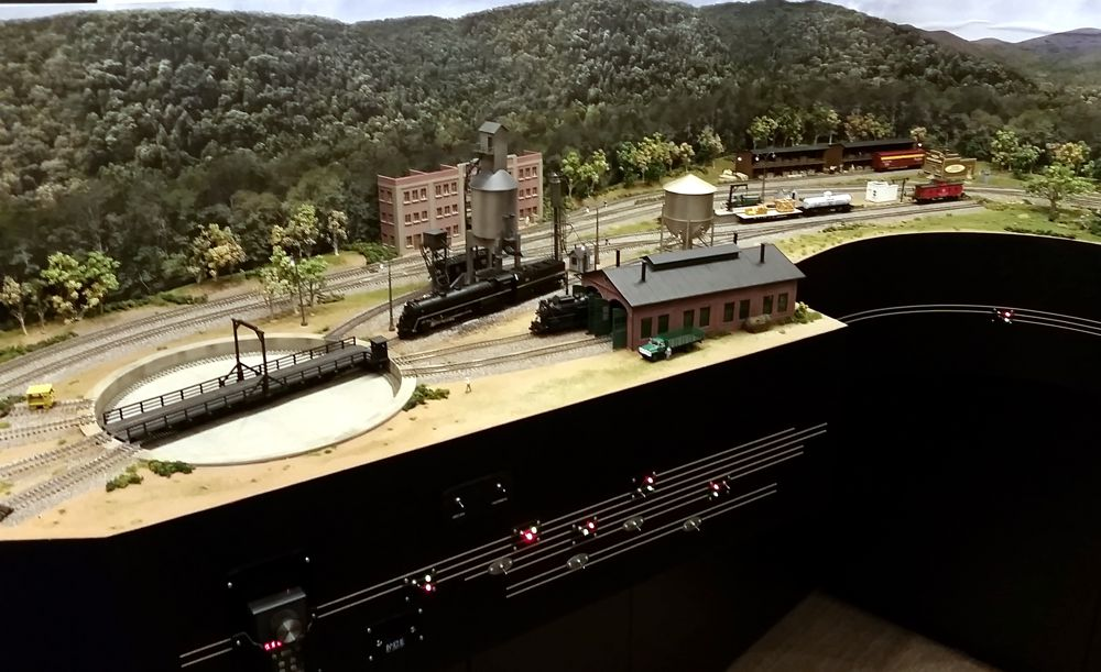 Custom model railroads ho scale southern railway layout - Ho scale layouts for small spaces concept ...